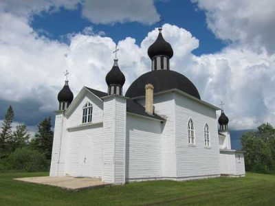Holy Trinity Ukrainian Catholic Church and Cemetery