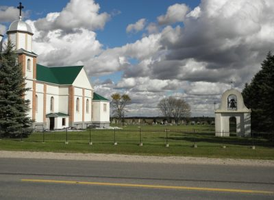 St. Dymytrius Ukrainian Catholic Church, Ladywood, RM of Brokenhead.